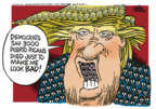 Cartoonist Mike Peters  Mike Peters' Editorial Cartoons 2018-09-14 presidential