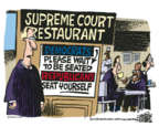 Cartoonist Mike Peters  Mike Peters' Editorial Cartoons 2018-04-18 Supreme Court