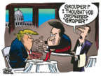 Cartoonist Mike Peters  Mike Peters' Editorial Cartoons 2018-10-03 presidential