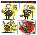 Cartoonist Mike Peters  Mike Peters' Editorial Cartoons 2018-10-30 sing