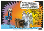 Cartoonist Mike Peters  Mike Peters' Editorial Cartoons 2018-11-13 death