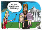 Cartoonist Mike Peters  Mike Peters' Editorial Cartoons 2018-11-15 Melania Trump