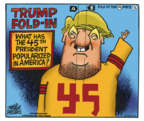 Cartoonist Mike Peters  Mike Peters' Editorial Cartoons 2018-12-11 presidential