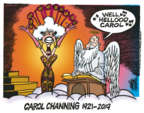 Cartoonist Mike Peters  Mike Peters' Editorial Cartoons 2019-01-16 death