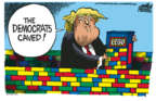 Cartoonist Mike Peters  Mike Peters' Editorial Cartoons 2019-02-12 leadership