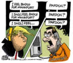 Cartoonist Mike Peters  Mike Peters' Editorial Cartoons 2019-03-14 2016 election