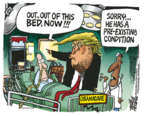 Cartoonist Mike Peters  Mike Peters' Editorial Cartoons 2019-03-27 program