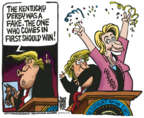 Cartoonist Mike Peters  Mike Peters' Editorial Cartoons 2019-05-08 presidential