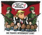 Cartoonist Mike Peters  Mike Peters' Editorial Cartoons 2019-06-13 administration