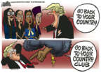 Cartoonist Mike Peters  Mike Peters' Editorial Cartoons 2019-07-18 Congress