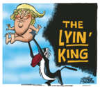 Cartoonist Mike Peters  Mike Peters' Editorial Cartoons 2019-07-25 presidential