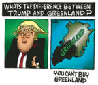 Cartoonist Mike Peters  Mike Peters' Editorial Cartoons 2019-08-19 Donald Trump
