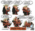 Cartoonist Mike Peters  Mike Peters' Editorial Cartoons 2019-11-08 impeachment