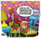 Cartoonist Mike Peters  Mike Peters' Editorial Cartoons 2019-11-14 impeachment