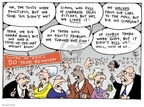 Cartoonist Joel Pett  Joel Pett's Editorial Cartoons 2001-04-29 walk