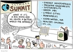 Cartoonist Joel Pett  Joel Pett's Editorial Cartoons 2009-12-07 big
