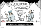 Cartoonist Joel Pett  Joel Pett's Editorial Cartoons 2010-01-04 heroin