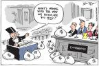 Cartoonist Joel Pett  Joel Pett's Editorial Cartoons 2010-04-26 congressional oversight