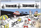 Cartoonist Joel Pett  Joel Pett's Editorial Cartoons 2010-06-30 vacation travel
