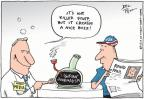 Cartoonist Joel Pett  Joel Pett's Editorial Cartoons 2010-08-12 2010 election