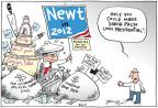 Cartoonist Joel Pett  Joel Pett's Editorial Cartoons 2010-08-18 2010 election