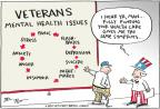 Cartoonist Joel Pett  Joel Pett's Editorial Cartoons 2010-11-11 soldier
