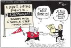 Cartoonist Joel Pett  Joel Pett's Editorial Cartoons 2011-04-07 federal budget
