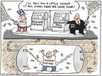 Cartoonist Joel Pett  Joel Pett's Editorial Cartoons 2011-05-12 federal budget