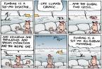 Cartoonist Joel Pett  Joel Pett's Editorial Cartoons 2011-05-18 habitat