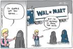 Cartoonist Joel Pett  Joel Pett's Editorial Cartoons 2011-06-23 working woman