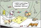 Cartoonist Joel Pett  Joel Pett's Editorial Cartoons 2011-07-06 dog