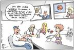 Cartoonist Joel Pett  Joel Pett's Editorial Cartoons 2011-07-07 basketball