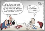 Cartoonist Joel Pett  Joel Pett's Editorial Cartoons 2011-07-14 federal budget