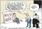 Cartoonist Joel Pett  Joel Pett's Editorial Cartoons 2011-08-03 federal budget