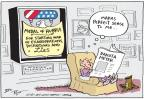 Cartoonist Joel Pett  Joel Pett's Editorial Cartoons 2011-12-16 honor