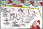 Cartoonist Joel Pett  Joel Pett's Editorial Cartoons 2011-12-20 Christmas