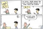 Cartoonist Joel Pett  Joel Pett's Editorial Cartoons 2012-02-23 walk