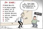 Cartoonist Joel Pett  Joel Pett's Editorial Cartoons 2012-03-07 Bush tax cut