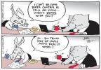 Cartoonist Joel Pett  Joel Pett's Editorial Cartoons 2012-04-17 working woman