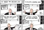 Cartoonist Joel Pett  Joel Pett's Editorial Cartoons 2012-06-28 supreme court judge