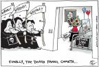 Cartoonist Joel Pett  Joel Pett's Editorial Cartoons 2012-06-29 supreme court judge