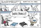 Cartoonist Joel Pett  Joel Pett's Editorial Cartoons 2012-08-15 Ryan Medicare plan
