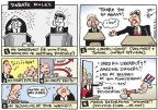 Cartoonist Joel Pett  Joel Pett's Editorial Cartoons 2012-10-03 George W. Bush