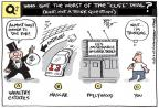 Cartoonist Joel Pett  Joel Pett's Editorial Cartoons 2013-01-03 movie