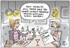 Cartoonist Joel Pett  Joel Pett's Editorial Cartoons 2013-01-27 soldier