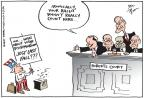 Cartoonist Joel Pett  Joel Pett's Editorial Cartoons 2013-03-02 supreme court judge