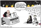 Cartoonist Joel Pett  Joel Pett's Editorial Cartoons 2013-03-21 war is hell