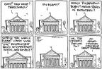 Cartoonist Joel Pett  Joel Pett's Editorial Cartoons 2013-03-29 supreme court judge