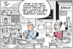 Cartoonist Joel Pett  Joel Pett's Editorial Cartoons 2013-05-22 freedom of the press