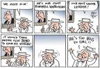 Cartoonist Joel Pett  Joel Pett's Editorial Cartoons 2013-09-10 senator